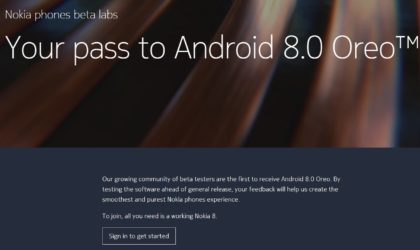 Nokia 8 Android 8.0 Oreo beta program open for registration now