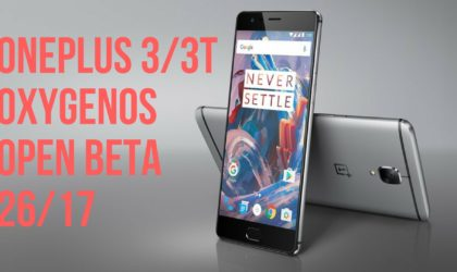 OnePlus releases Oreo beta bug fixer update for OnePlus 3 and 3T as open beta 26/17
