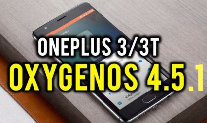 OxygenOS 4.5.1 update rolling out for OnePlus 3/3T as an OTA