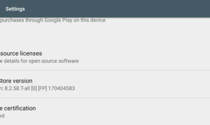 Latest Play Store update hits web as version 8.2.58 [APK]