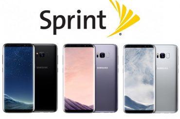sprint galaxy s8 update