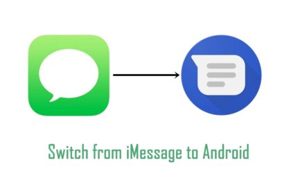 How to switch SMS/MMS from iMessage to Android