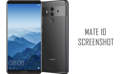 How to take a screenshot on Huawei Mate 10 and Mate 10 Pro