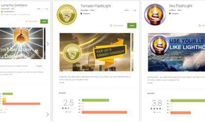 PSA: Some Flashlight and Solitaire apps on Play Store can steal your Bank details