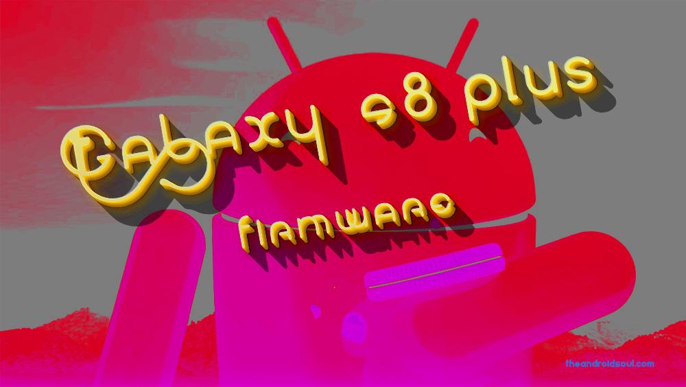 Galaxy S8 Plus firmware
