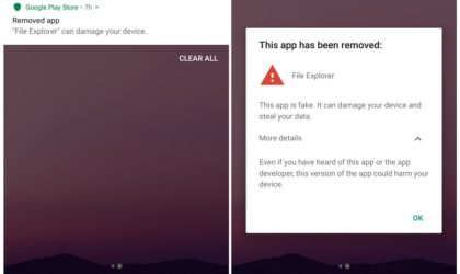 Google Play Store automatically removed an app on your Android device? Here is why