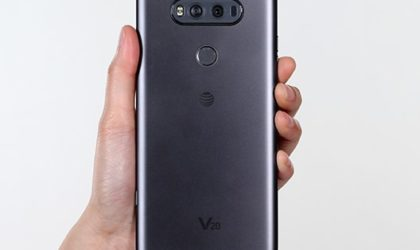 AT&T rolling out LG V20 update as software version H91010r