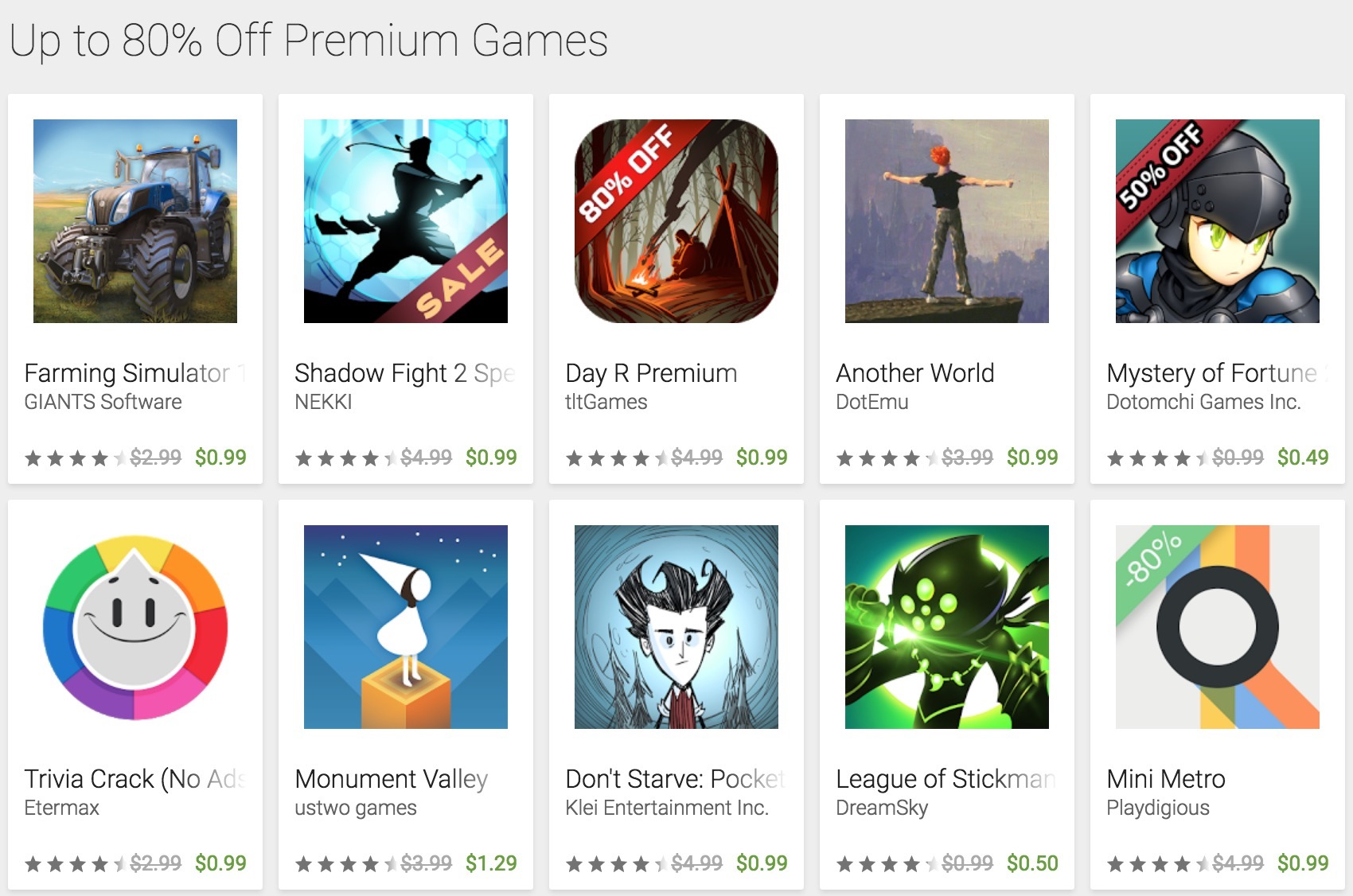 black friday deal play store