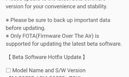 Galaxy S8 Oreo beta: New OTA update ZQKI fixes app not opening issue on third beta