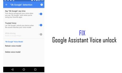 Google Assistant Voice Unlock not working on your Android device? Here's how to fix it
