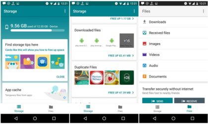 Download Files Go APK, a new file manager app by Google