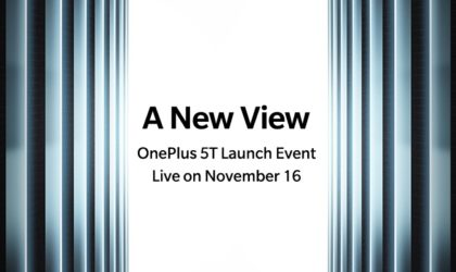 It's official! OnePlus 5T is coming on 16 November