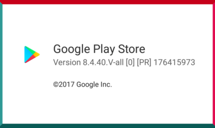 Play Store update with version 8.4.40 rolling out, get the APK here