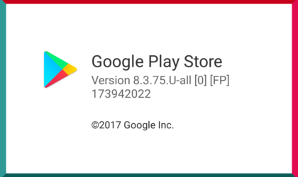 [APK] Google Play Store update rolling out with version 8.3.75
