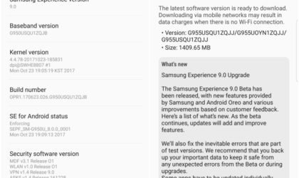 Android Oreo update for the Galaxy S8 and S8 Plus announced as Samsung Experience 9.0 edition