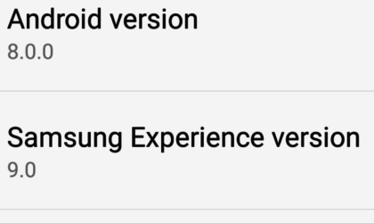 Galaxy S8 Oreo beta update to arrive as firmware G950USQU1ZQJB with Samsung Experience 9.0