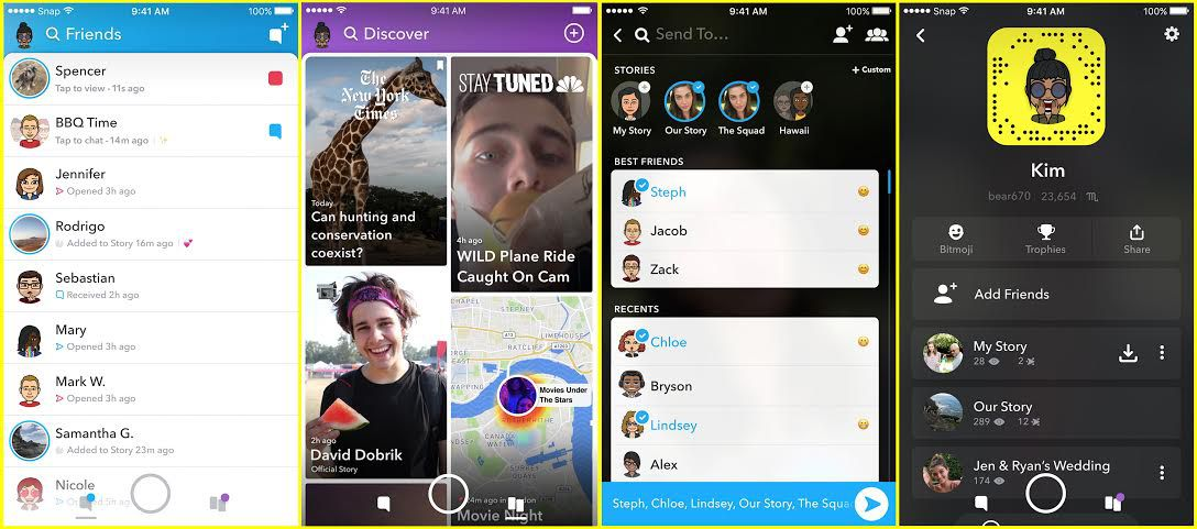 New Snapchat Update Brings Redesign And Separates Your