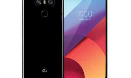 Sprint LG G6 receives LS993ZV9 update, brings November 2017 patch and Blurborne fix