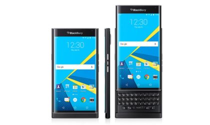 Verizon rolls out Krack fix for its BlackBerry PRIV with September 2017 patch