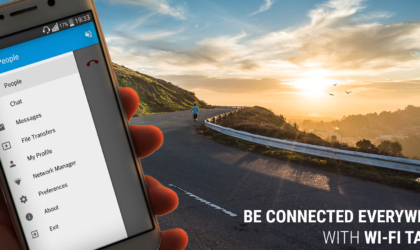 Make calls over your local WiFi network with WiFi Talkie app for Android