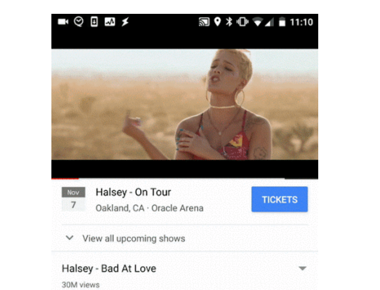 youtube sell tickets
