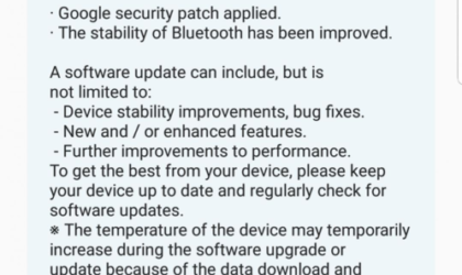 Galaxy S8 Android 8.0 Oreo update beta 4 rolling out now
