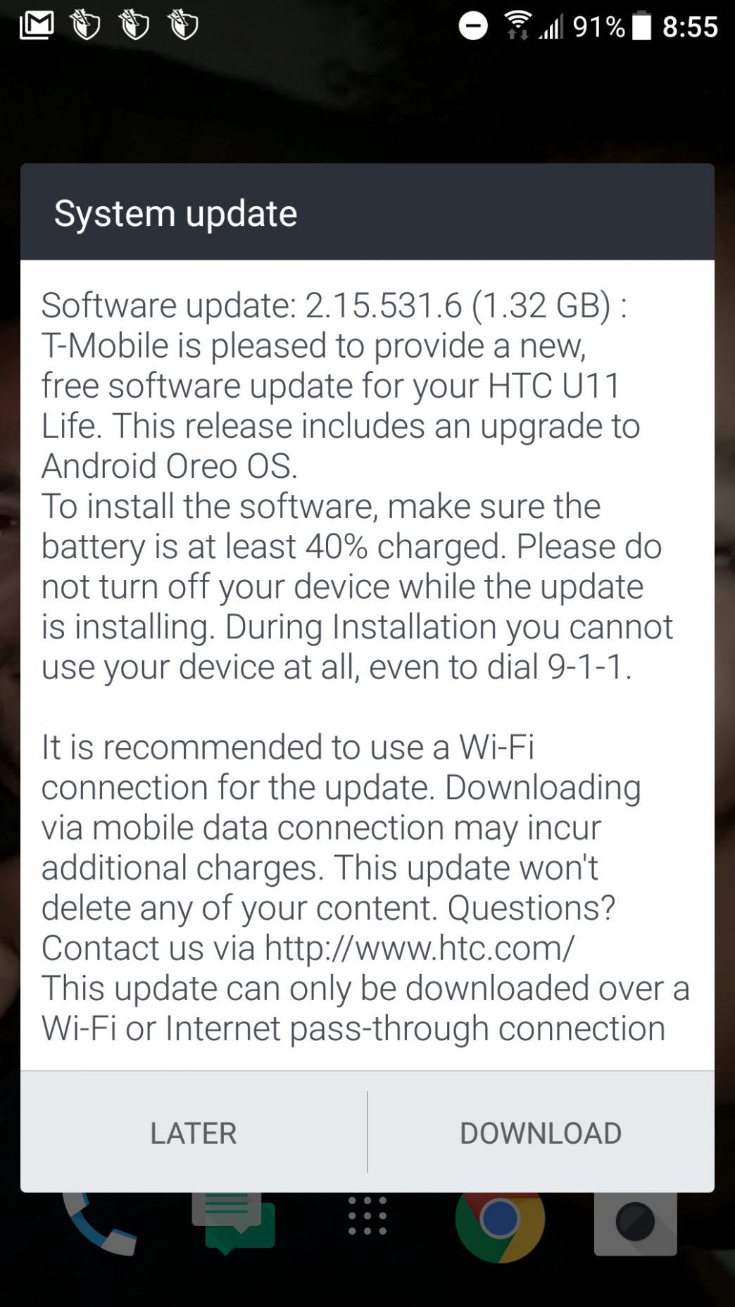 HTC-Oreo-update