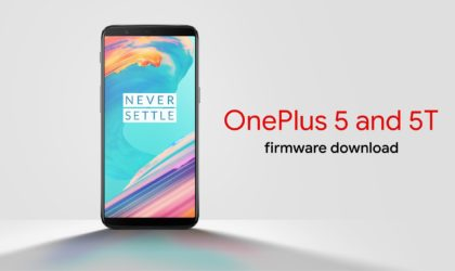 OnePlus 5 and OnePlus 5T firmware download [Stock ROM]: OxygenOS 5.1.3 available