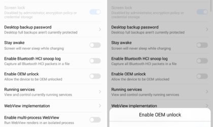 Can't find OEM Unlock option in Developer options? Here is what you need to know