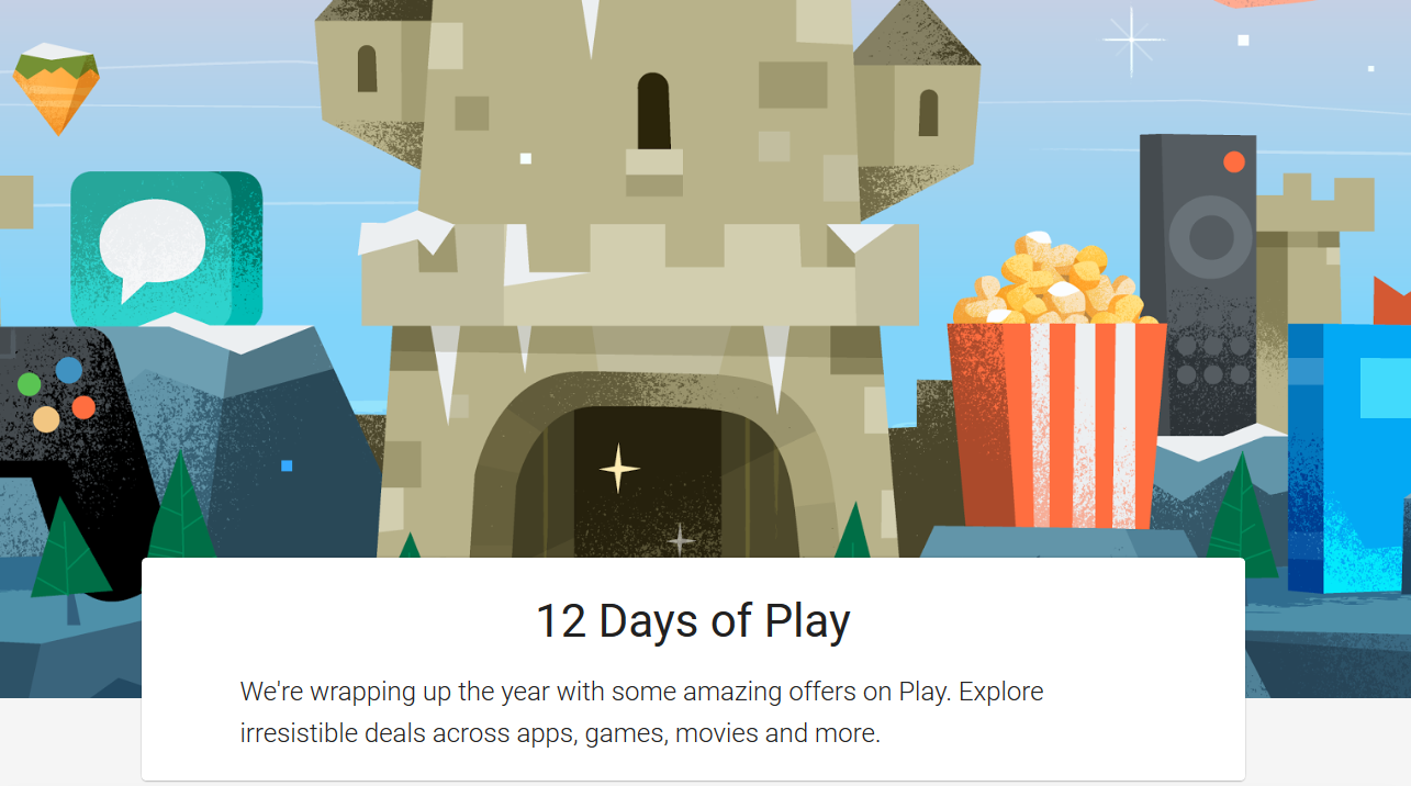 Image result for google play sale 12 days