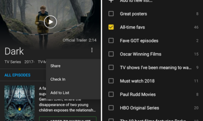 IMDb Android app update brings the ability to edit and create lists