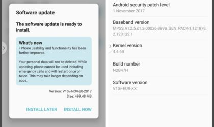 LG V30 getting an OTA update with November security patch