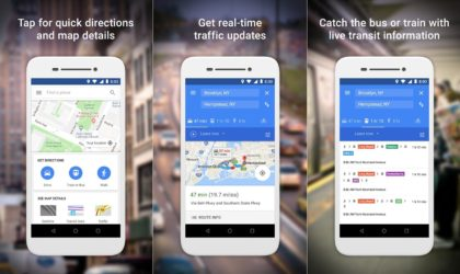 Google releases Maps Go, ARCore and AR Stickers Android apps on the Play Store