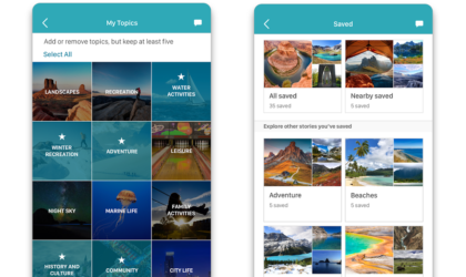 Microsoft launches Outings travel app to help search beautiful places
