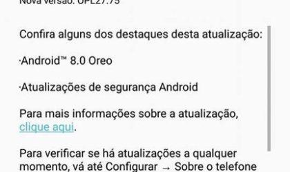Moto Z Oreo update starts rolling out in Brazil