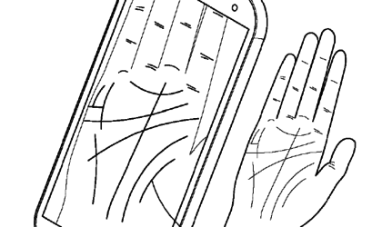 Samsung Patent to use Palm recognition to help you remember passwords
