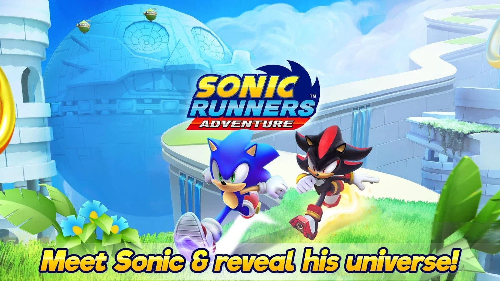 Sonic Runners Adventure Is Now Available On The Play Store Costs 2 99
