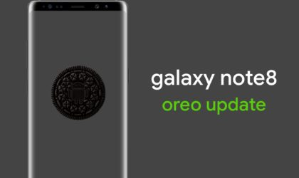 Samsung Galaxy Note 8 gets the much awaited Android 8.0 Oreo update