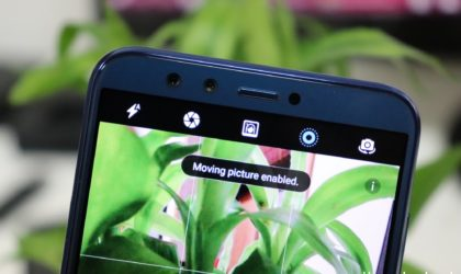 A new update to Mate 9 adds moving pictures feature that lets you capture dynamic photos
