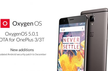 OxygenOS-5.0.1 oneplus 3 and 3t