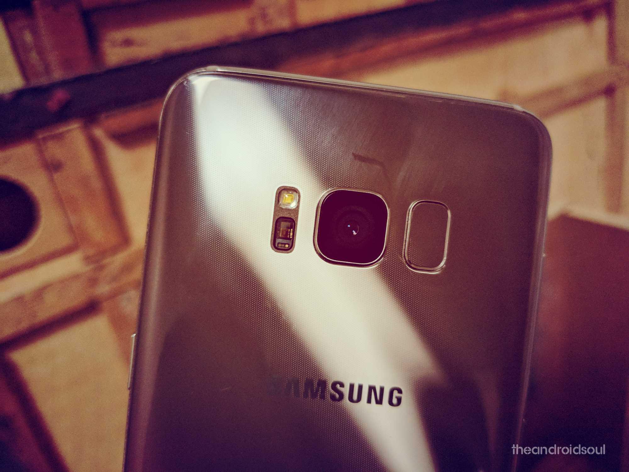 Samsung Galaxy S8 active update