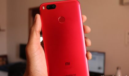 [Deal] Get the Xiaomi Mi A1 (Red) for just $200