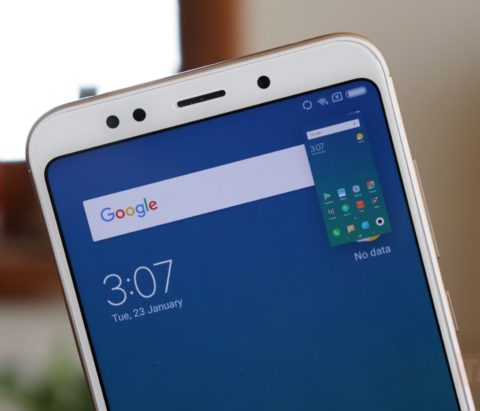 How to take a screenshot on Xiaomi Redmi 5
