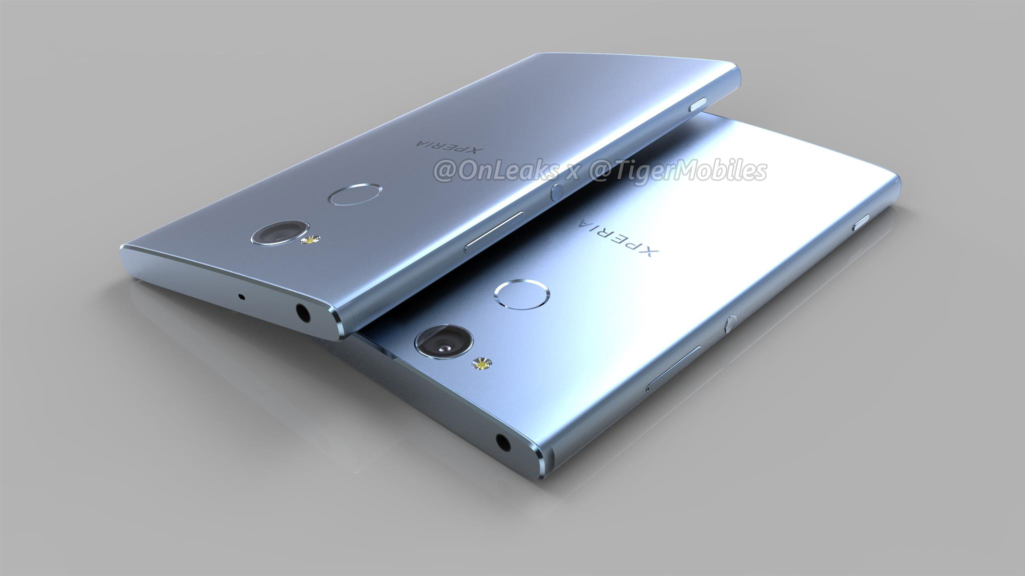 Quality Sony Xperia XA2, XA2 Ultra, and L2 renders confirm outdated designs