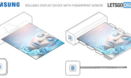 Samsung awarded new patent for rollable screen device with embedded fingerprint sensor