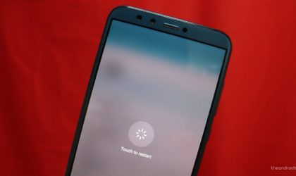 How to shut down and force restart Honor 9 Lite