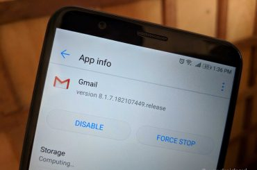 gmail 8.1 apk teardown