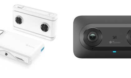 Google announces two VR180 cameras and a standalone Daydream Lenovo Mirage Solo VR headset