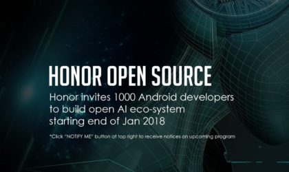 Huawei opens their AI source and bootloaders for the Honor View 10 with the launch of Honor Open source Program in the US