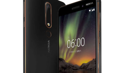 Nokia 6 2nd generation launched in China, priced 1499 Yuan ($230)